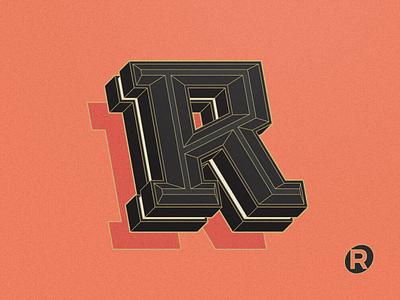 R text effect typeface design typeface type design type font design font typography
