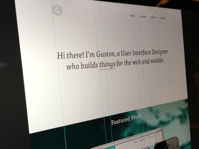 Portfolio Redesign v.2 tisa portfolio