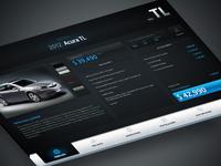 Acura Autoshow touchscreen 2013