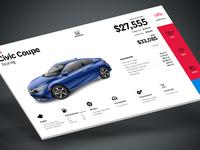 Honda Autoshow touchscreen