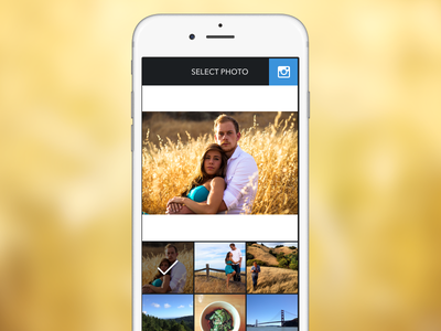 Trim instagram photo iphone ios app photos resize