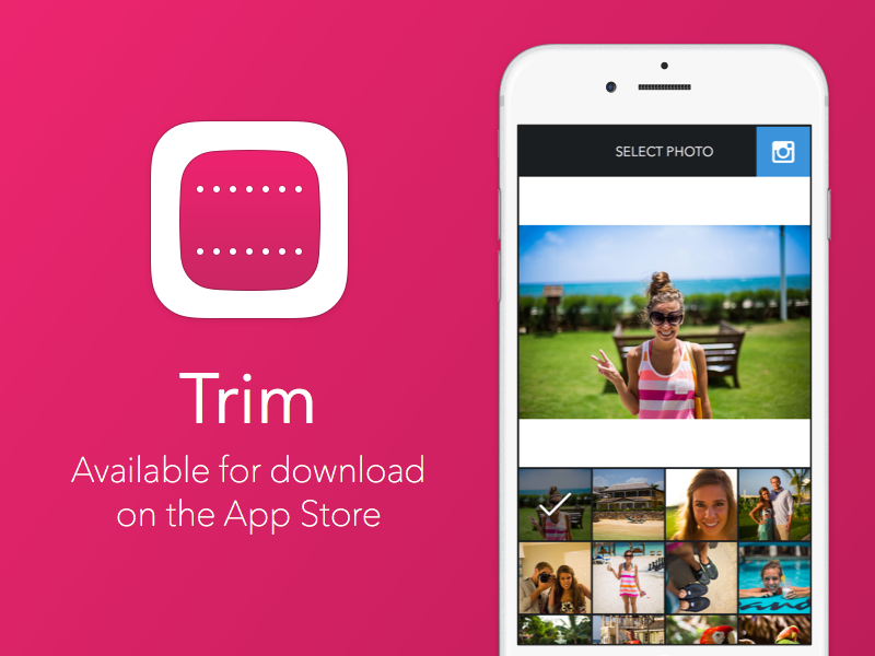 Trim trim instagram app icon iphone photos ios