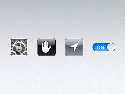 Baby Icons icons settings privacy location toggle ios icon