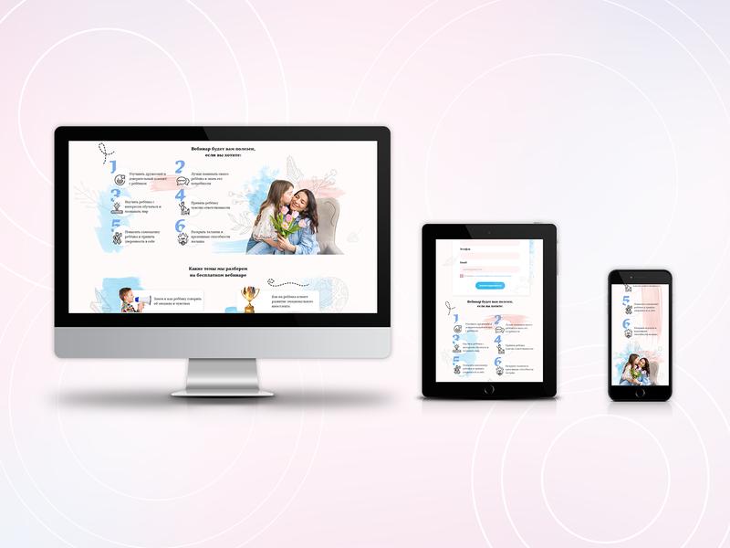 Adaptive design for landing page emotional intelligence parents childrens tablet design adaptive design