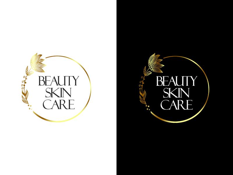 Logotype for cosmetics store natural cosmetics skincare beauty cosmetics logoype logo