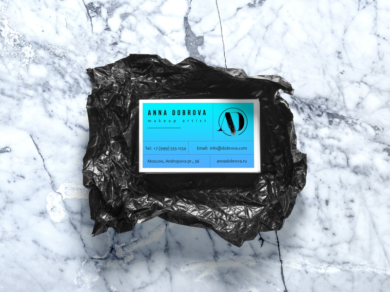 AD business card blackandwhite black  white electric blue business card logodesign logotype logo businesscard