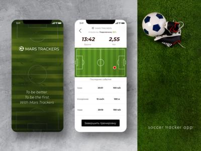 Soccer App #1 app design soccer soccer app sport application sport app application app