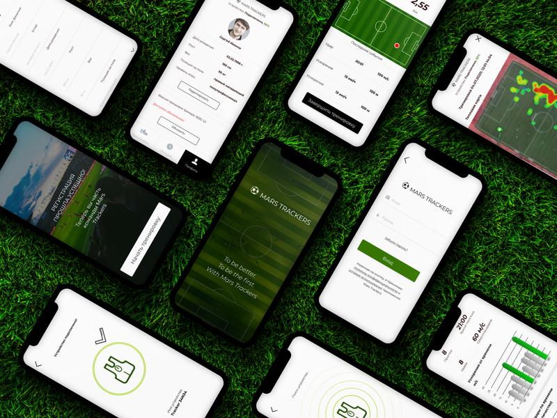 Soccer App #2 application ux ui sport application sport app soccer app soccer app ui ux application app design app