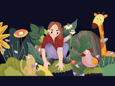 女孩的探险