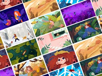 Girls' adventure collection