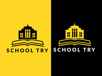 School try Logo Ui