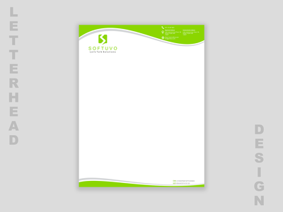 Letterhead - Internal Branding User Interface