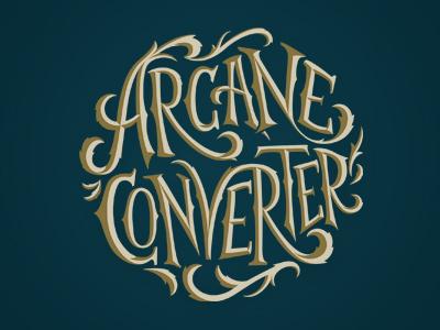 Arcane Converter Logo