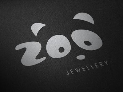 Zoo Jewellery Logo zoo panda design logo