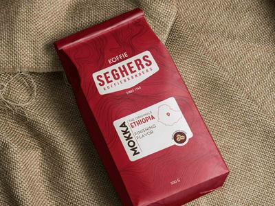 Segehrs Coffee packaging branding logo