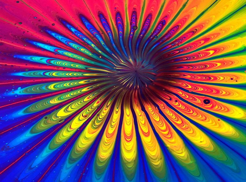 STRAINER SPLIT CUP pour ~ Rainbow week Day 3 ~ Acrylic pour pain flower stayhome fluid art paintings acrylic paint tutorial design art pouring acrylic rainbow