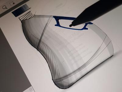 Bottle / Jar design from sketching bottle detergent jar product