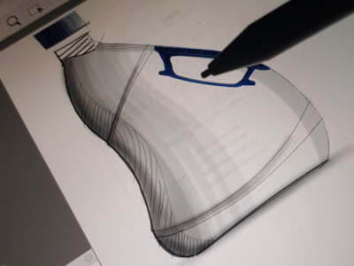 Bottle / Jar design from sketching