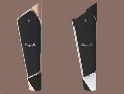 Geometric dispenser bottle Design