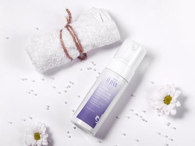 """Cosmetic Bottle design for Aicha Attia Brand """" ODAW """" branding cosmetics cosmetic packaging cosmetic product design bottle design retail product 3d packaging"""