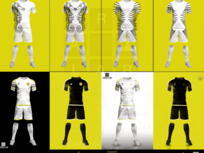 Football team kit design process