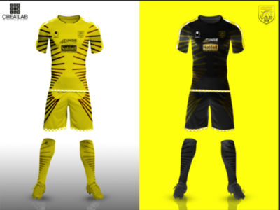 Final result of football kit design football design kit