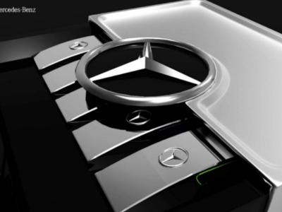 Mercedes Luxury Perfume Design