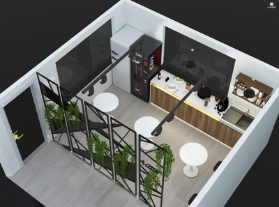 Bic Coffee/Break Room in Plant