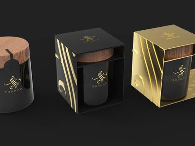 Luxury Packaging Design for Honey