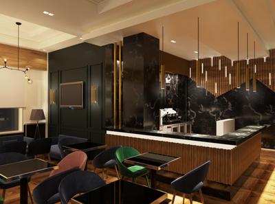 Luxury Coffee Design interior