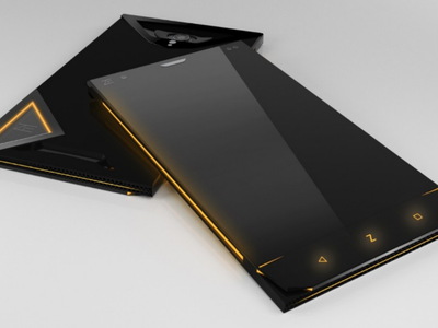Cybertruck like smartphone design google android futurstic product smartphone 3d cybertruck elonmusk