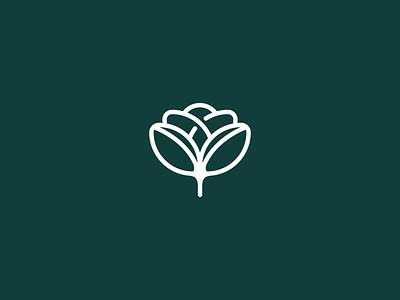 Bloom & Bean minimalist logo minimalism minimal branding minimal design coffee logo coffee branding flower logo concept logo designer logo design logodesign logos logofolio brand design brand agency branding design brand identity branding