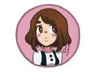 Ochako Button