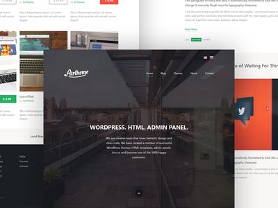 Personal Website business html web portfolio website project