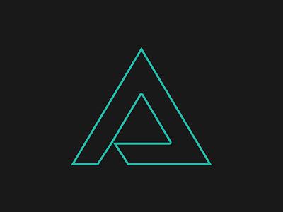 Triangly Symbol logo logo design symbol branding identity portfolio geometric design vector