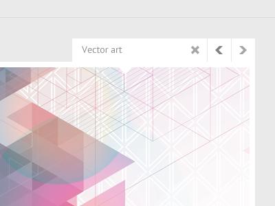 Projects navigation navigation project design webdesign portfolio triangly dropbox