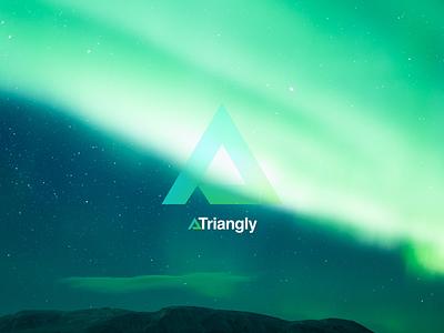 Triangly wallpaper desktop wallpaper triangly design portfolio dropbox
