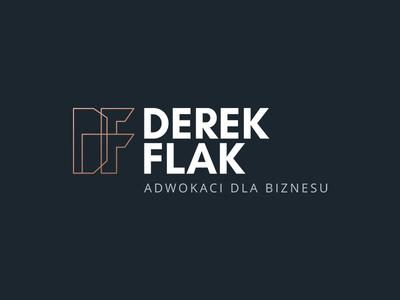 Derek & Flak law firm law firm lawyer branding logo