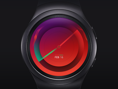 Watch Face wearable time design face watch s2 gear samsung