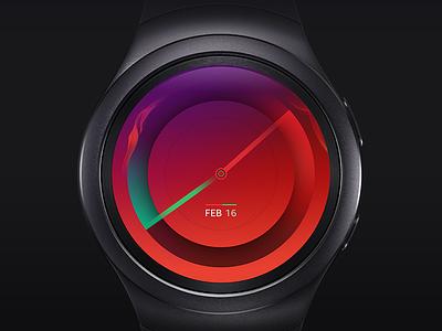 Watch Face wearable time design face watch s2 gear samsung