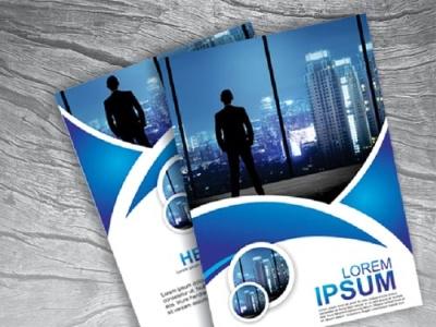 Business Flyer Design Free Download flyer template vector cdr vector illustration illustration templates brochure template business flyer design