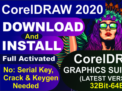 CorelDraw 2020 Download & Install - Full Activeted Version coreldraw download  install corel draw coreldraw graphics suite 2020 coreldraw 2020
