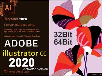 Adobe Illustrator 2020 Full Verison Free Download 2020 illustrator download software graphics design adobe illustrator