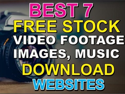 Top 7 Free Stock Footage Sites free music download free stock image footage website free stock video free stock