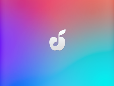 Apple Music logodesigner logodesign apple music vector creative negativespace simple music digital icon app note fantazy concept sign app design logo applemusic apple