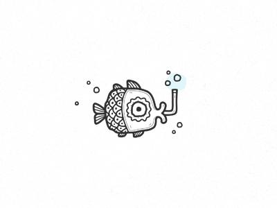 fish (for SALE) ethnic ethno sale vector aquarium character fish logotype logo