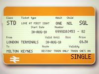 One Single Ticket