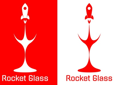 Rocket Glass Logo