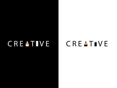 "Creative Logo Mark (Pencil Top ""Sharp Point"" and Bottom""Rubber"")"