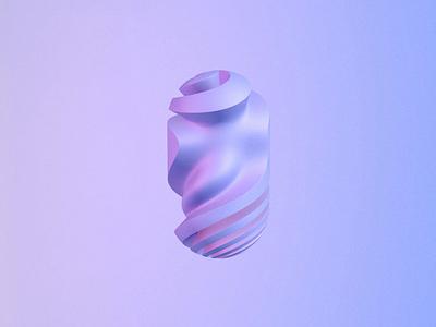 👾⚡️ path minimal animated shape lowpoly blender 3d motion 3d animation octane render shape noise c4d graphic design branding logo motion graphics 3d animation